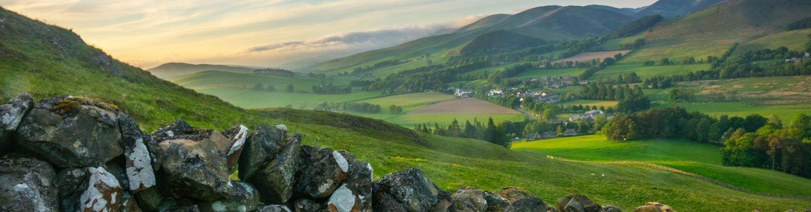 Beautiful Scottish countryside - similar to what I always envisioned it to look like in Brigadoon!