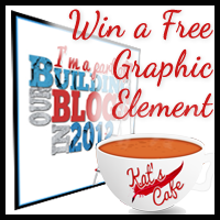 Win a free graphic element from Kat's Cafe!