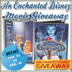 Win a Disney Enchanted Evening Movie Giveaway