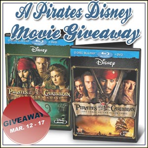 Disney's Pirates of the Caribbean Giveaway