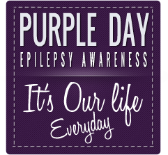 Epilepsy Awareness Graphics Set Available – Support Purple Day!