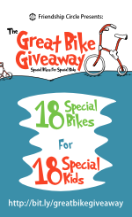 Special Needs Causes: The Great Bike Giveaway - PIn & Support